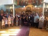 Епископ Феодосий с погорельцами