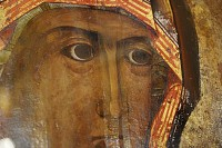 Лик Смоленской иконы Божьей Матери
