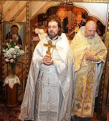 иерей Сергей Свешников, Крещение, 2015 г.