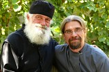 монах Игнатий с диаконом Андреем Гариным