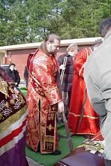 Погребение протодиакона Николая Поршникова