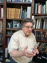 Регент Архиерейского хора, чтец Владимир Вадимович Красовский