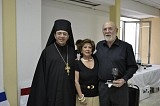 Archimandrite Nektariy with His Excellency Prince Alexander Saitcevsky