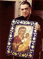 Брат Иосиф Монес (+1997), хранитель Иверской-Монреальской мироточивой иконы